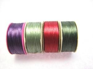 ナイモ ボビン 太さ:B 4色 nymo-as-b-002